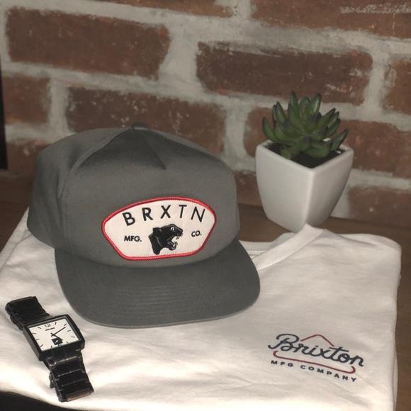 1d9722ddb08 Brixton Big Cat Snapback Hat